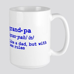 Grandma and Grandpa Just Like Large Mug
